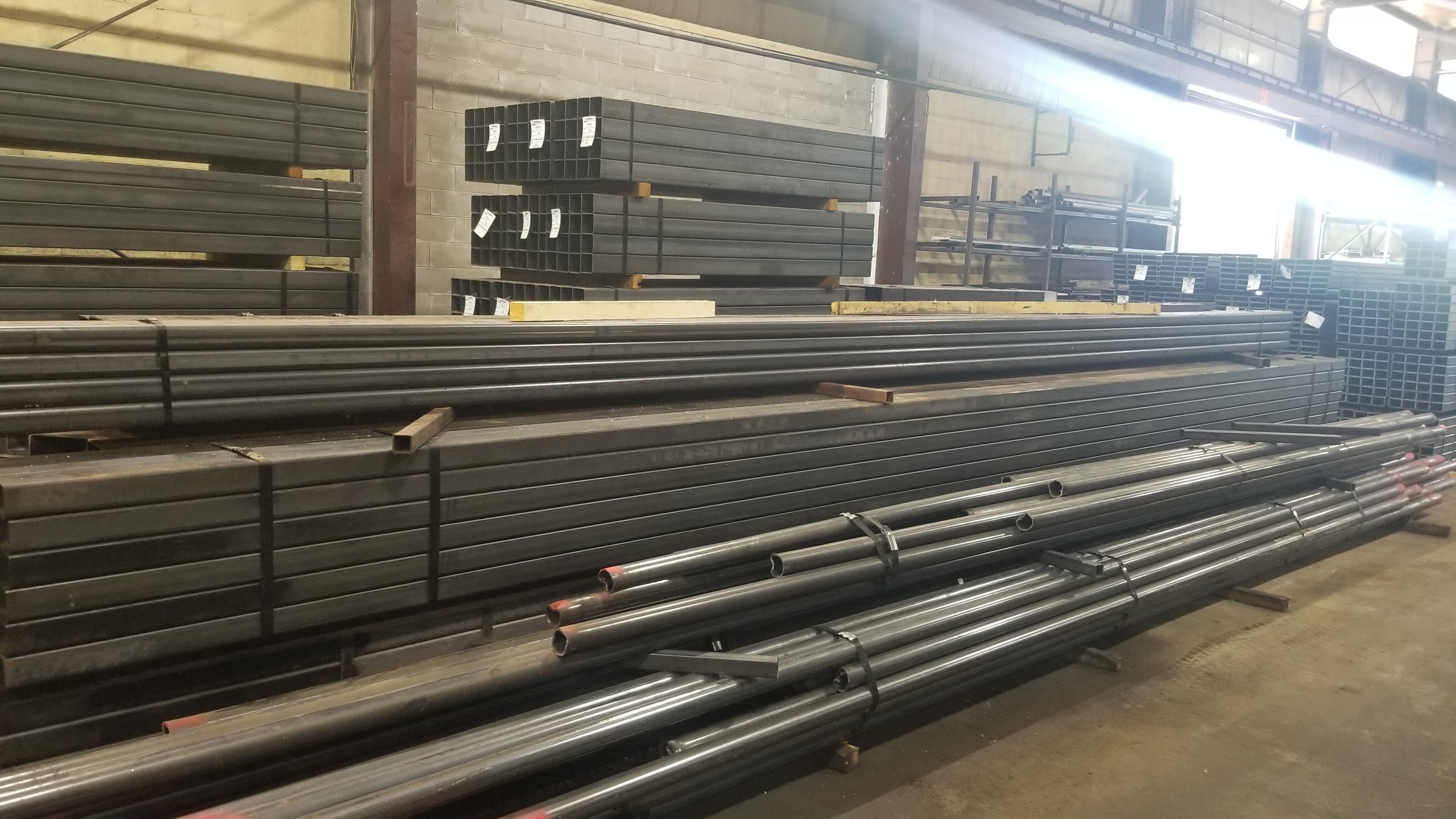 Site Visit with Dave at James Steel